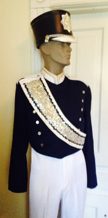 Marchinglinks Navy Blue Used Marching Band Uniforms